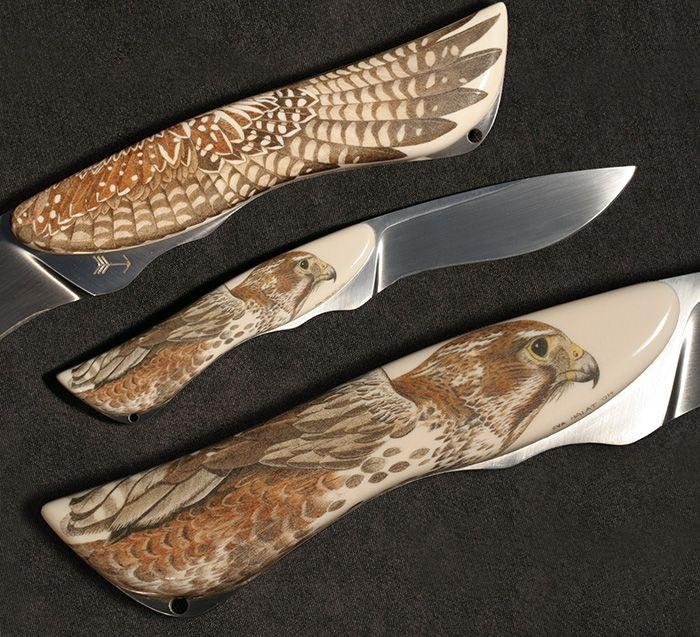 Carving Knife Good Guys: Scrimshaw - Google Zoeken