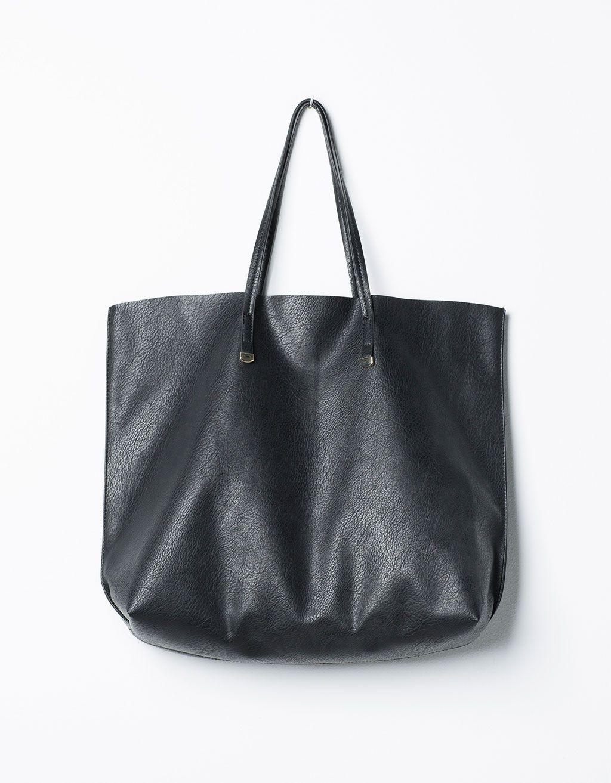 11a8d8c324 Metallic pendant shopper bag in 2019