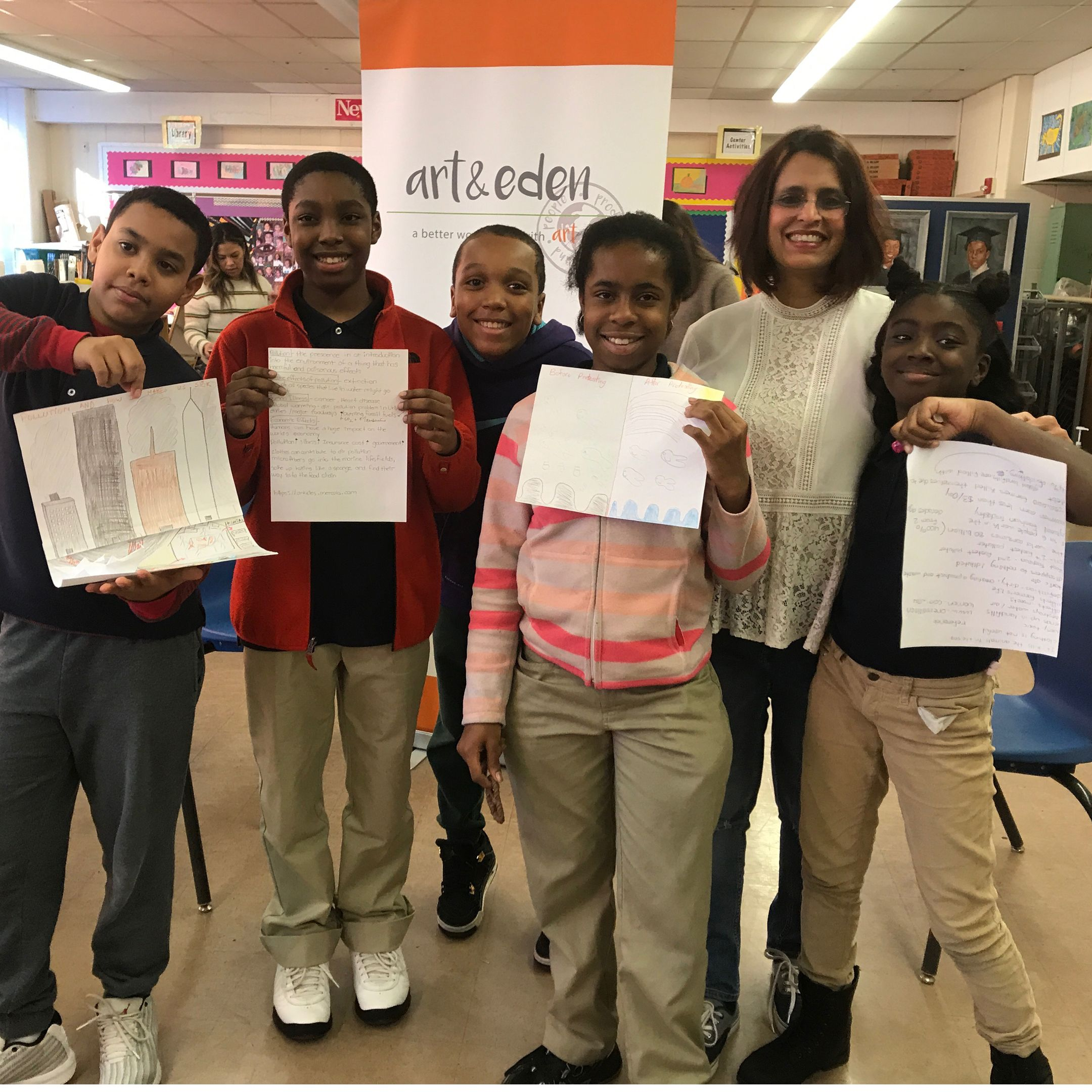 Middle Schoolers Take On Systemic Change And They Re On