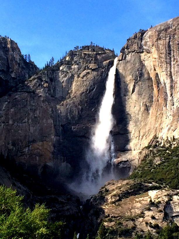 Yosemite Falls Mariposa County California By Summer