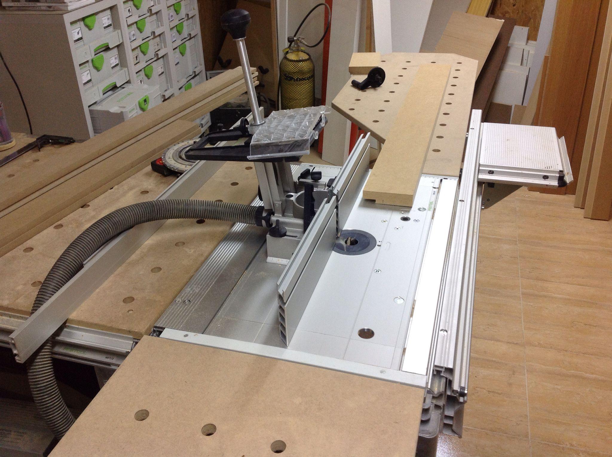 Mtf sistema fresadora festool festool mft workbench for Table festool