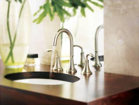 Icon Chrome two-handle high arc bathroom faucet - TS6520 | Moen ...