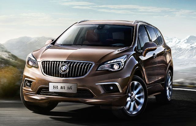 Buick Envision Made In China And Coming To The Usa