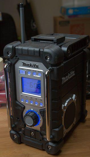 Makita Jobsite Radio Lxrm03b Backlighting Makita Makita Tools Jobsite