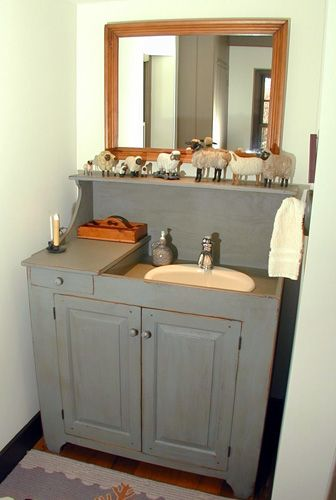 drysink vanity i made for a bed and breakfast in louisville kentucky workshops bathrooms in. Black Bedroom Furniture Sets. Home Design Ideas