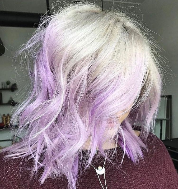 Pin By Bobbi Azure On Hair Beauty Junkie Purple Highlights