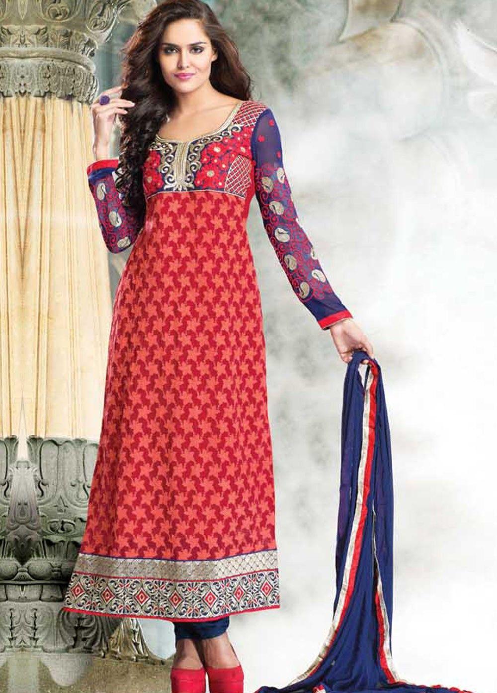 Elegant & stylish salwar suit online. It's