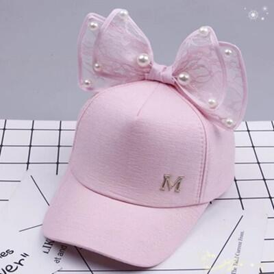 Children Sequins Baseball Cap Spring Summer Baby Mesh Sun Hat Adjustable Girls Snapback Hip Hop Cap Decoration