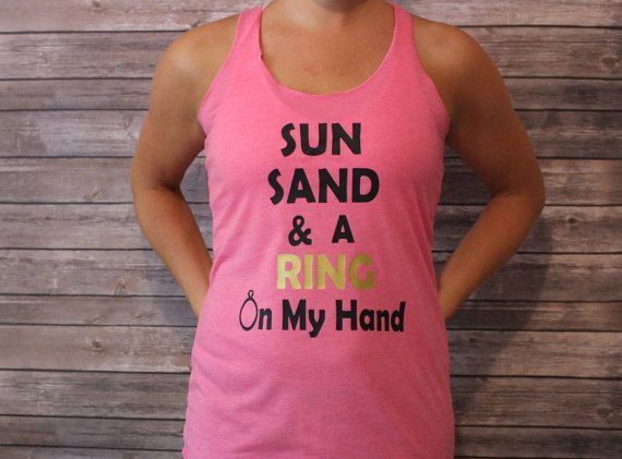 Sun Sand & A Ring On My Hand Sun Sand and by shoretopleasedesigns