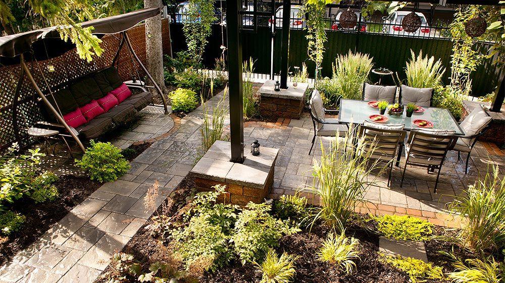 R alisations plani paysage patio et terrasse for Amenagement paysager terrasse