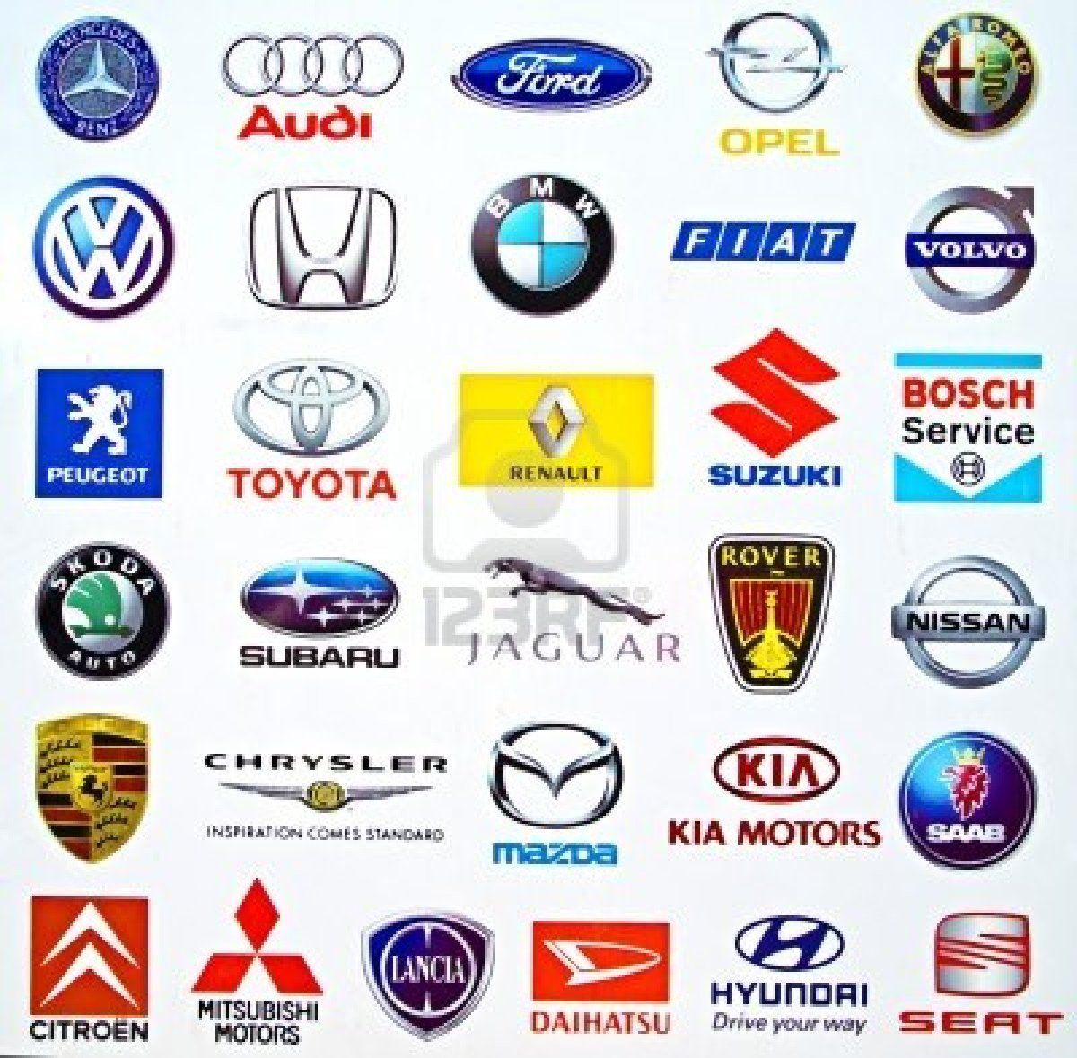 Car Brands That Start With D >> Stock Photo Logo Design Car Brands Logos Logos Design