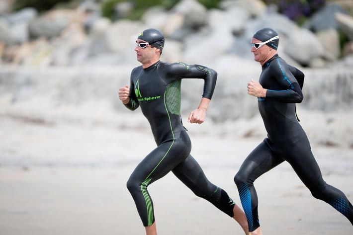 Fig.: The 'Phantom' And 'Racer' Wetsuits For Men By Aqua