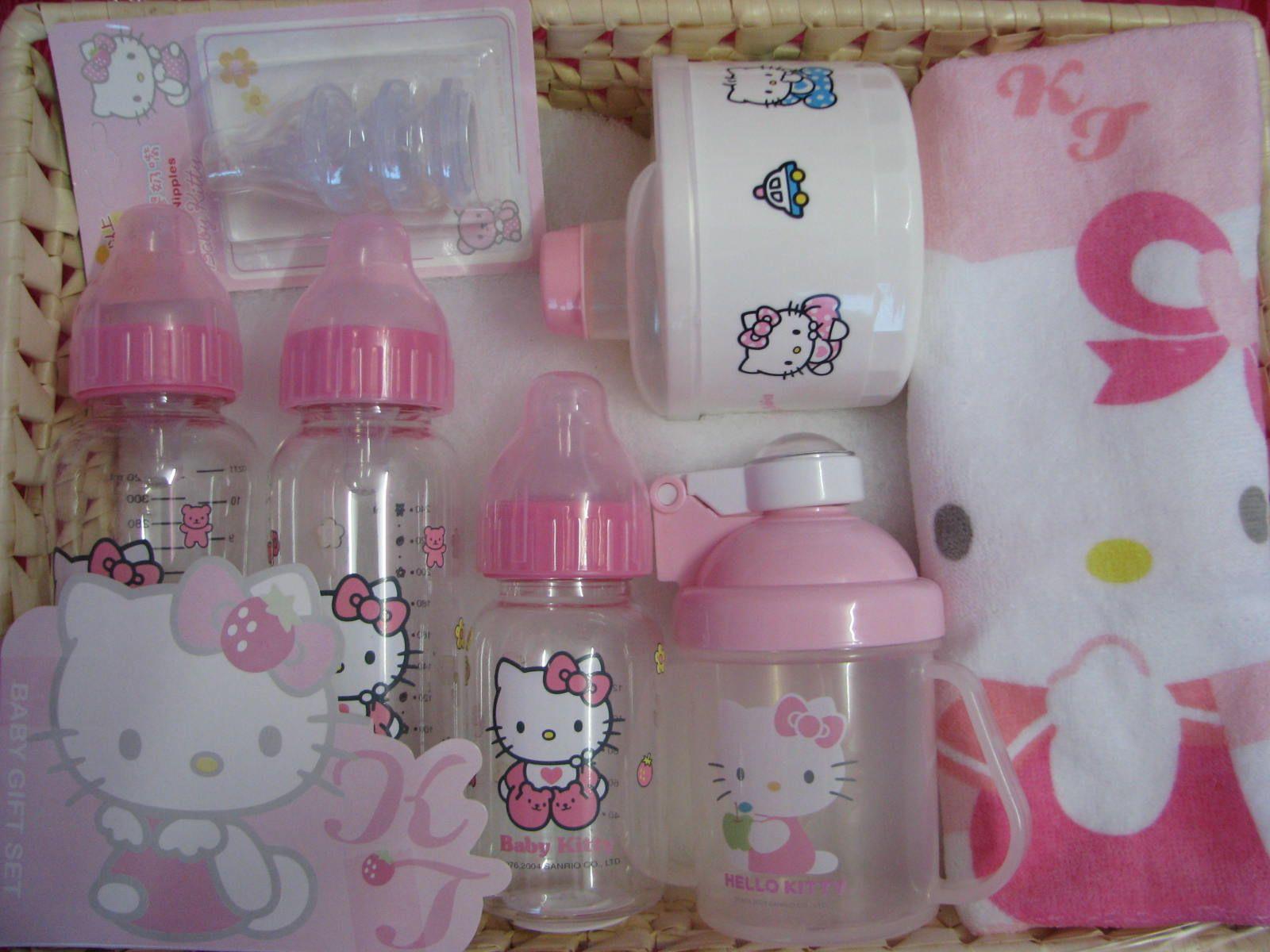 Hello kitty bedroom for baby - Photo Via Hello Kitty Babyhello