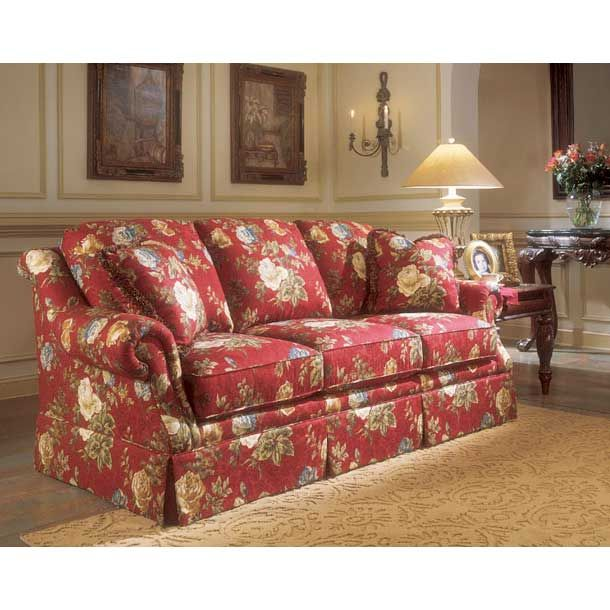 Becker Furniture 87 Clayton Marcus Sofa 3267 Floral Sofa