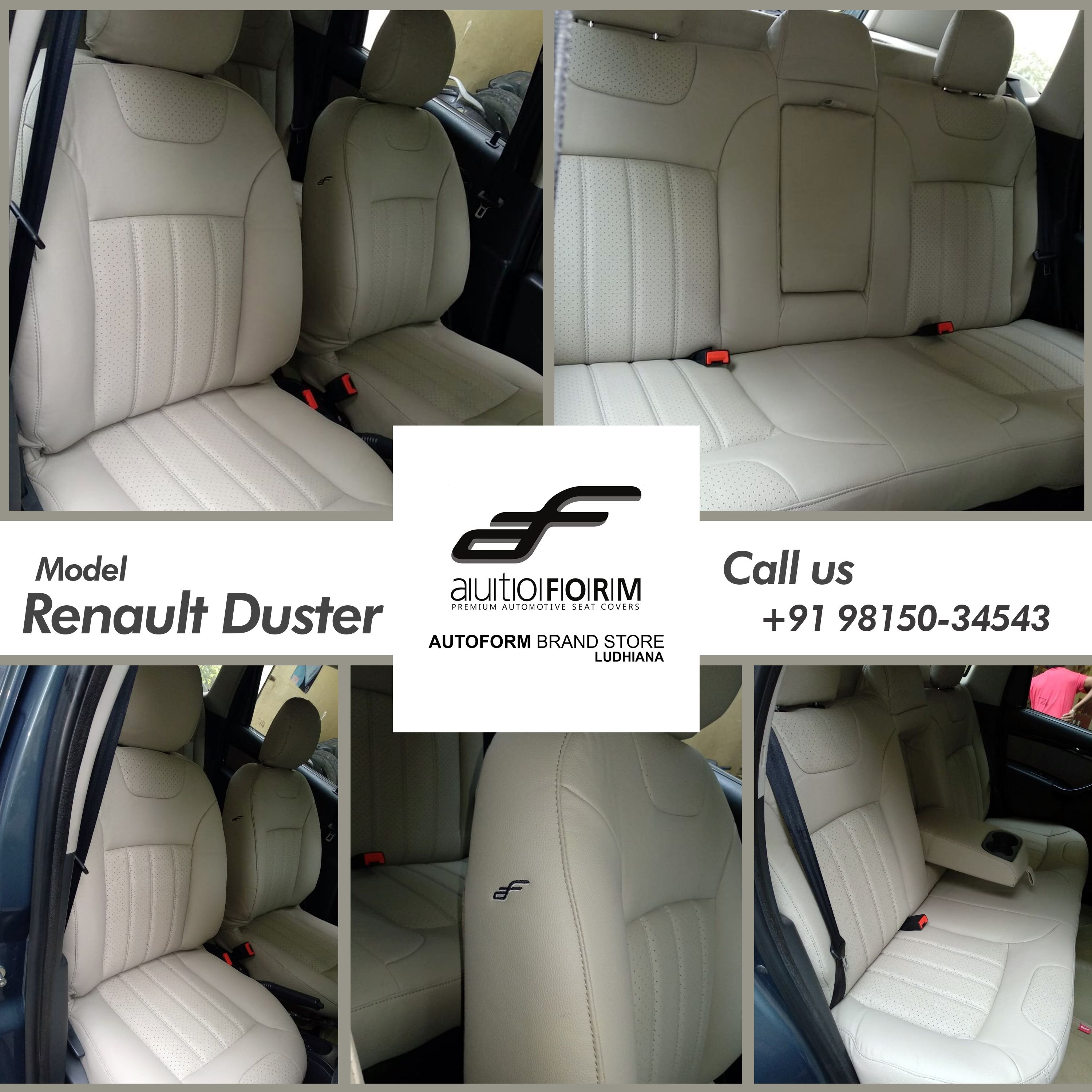 Renault Duster Is Ready To Thrill The Roads With Its Perfection Of Riviera Series In Light Grey With Perforation This Magnifi Renault Duster Car Seats Renault