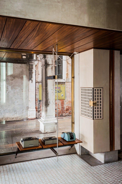 Olivetti showroom by carlo scarpa retail pinterest - Carlo scarpa architecture and design ...