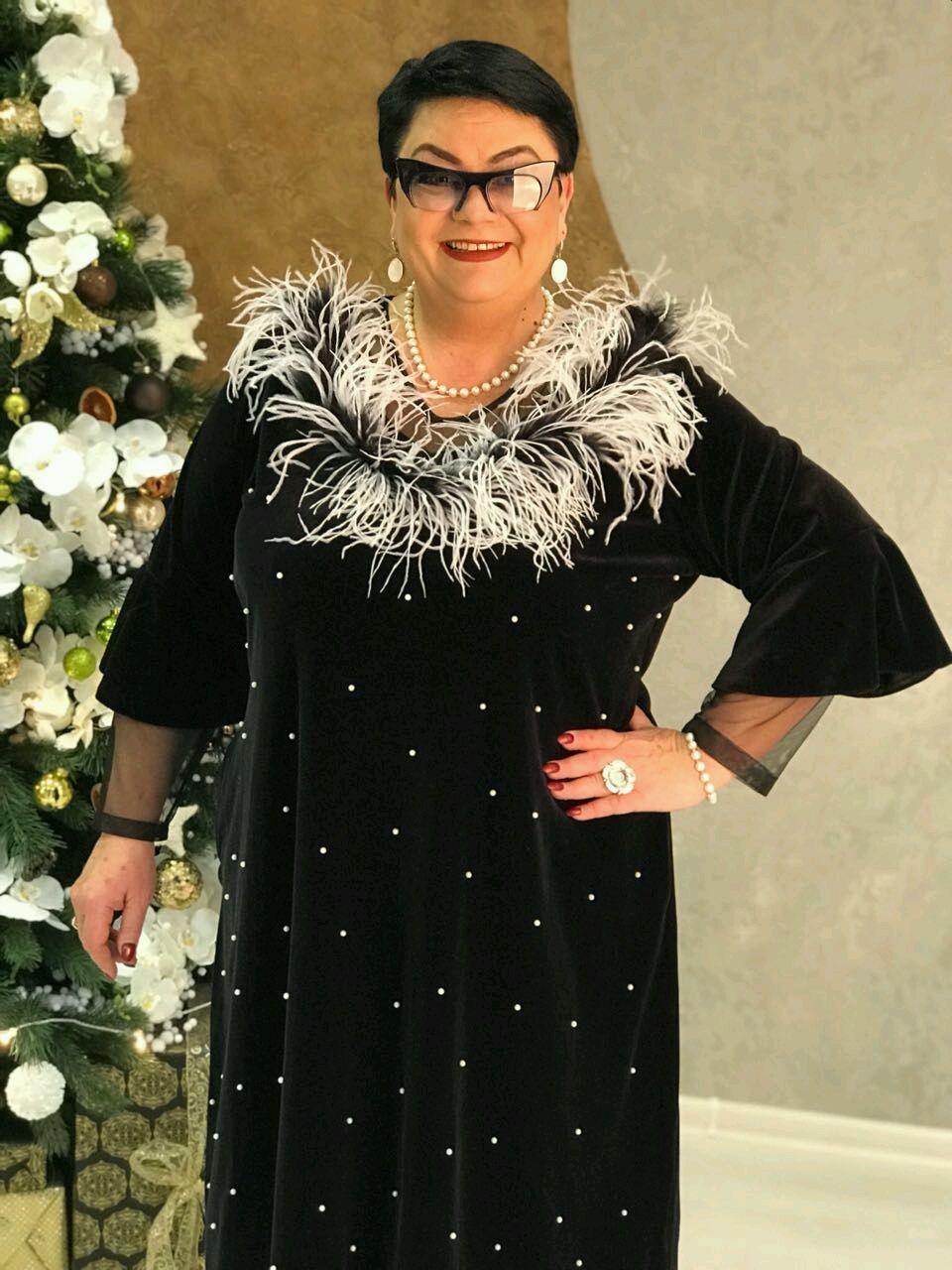 62e263b2e9ea Купить Платье Перья - платье, платье вечернее, большие размеры ...