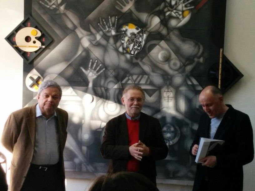 Открытие выставки в DiDi