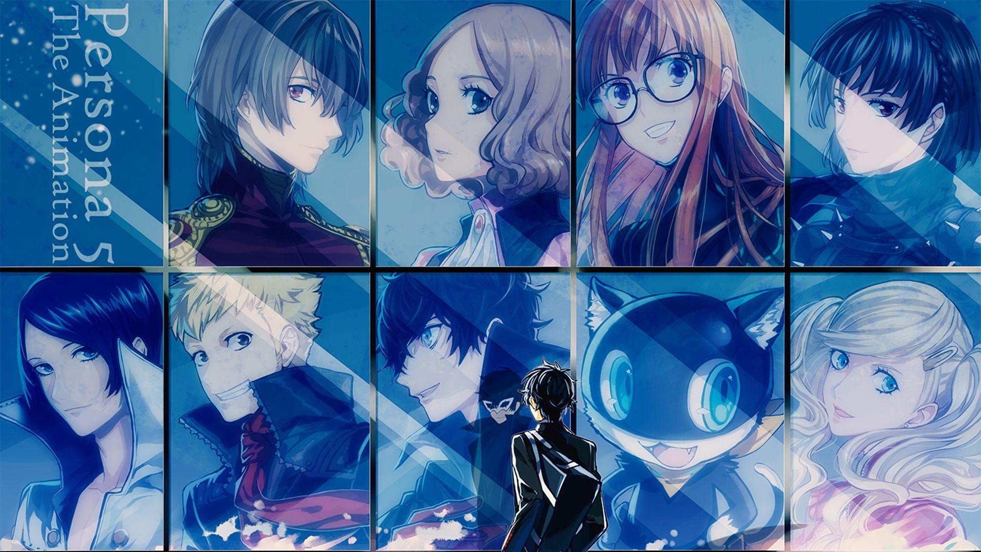 Persona 5 All Out Attack Wallpaper 1920x1080 Persona 5 Persona 5 Joker Persona