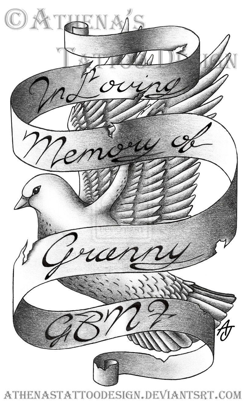In Loving Memory Tattoo Drawings : loving, memory, tattoo, drawings, Loving, Memory..., Athenastattoodesign, DeviantArt, Memory, Tattoos,, Memorial