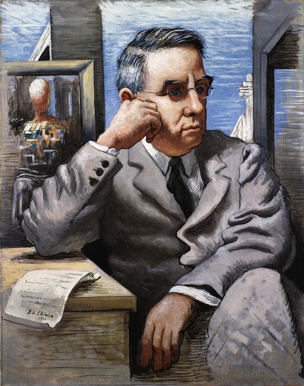 Giorgio de Chirico, Retrato do Dr. Albert C. Barnes, 1926