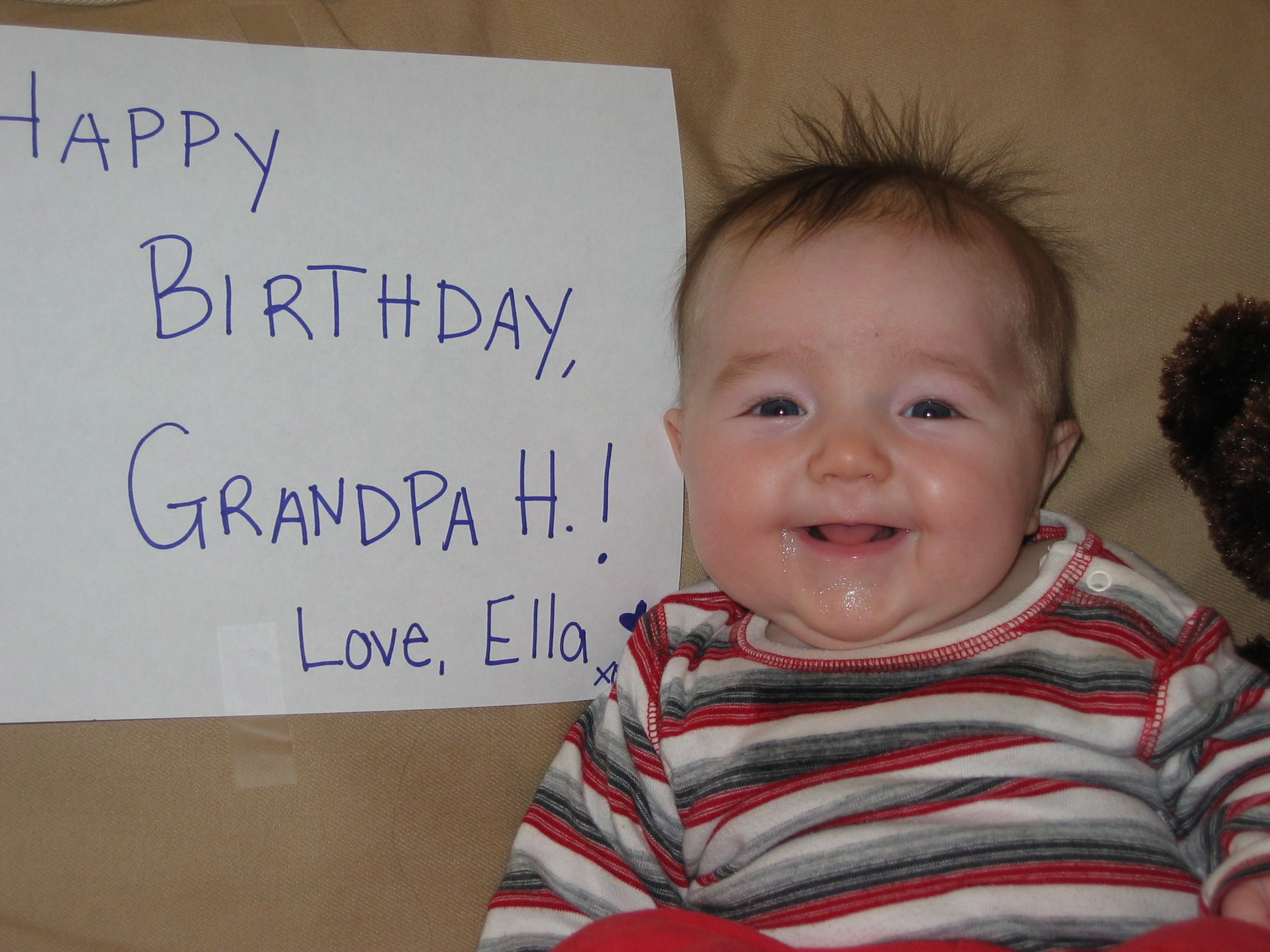 Easy peasy birthday card!