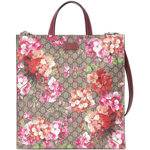 07f6a2349732 Gucci Soft GG Blooms tote (41,500 THB) ❤ liked on Polyvore ...