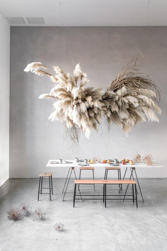 A decorative plant cloud – Project Inside –