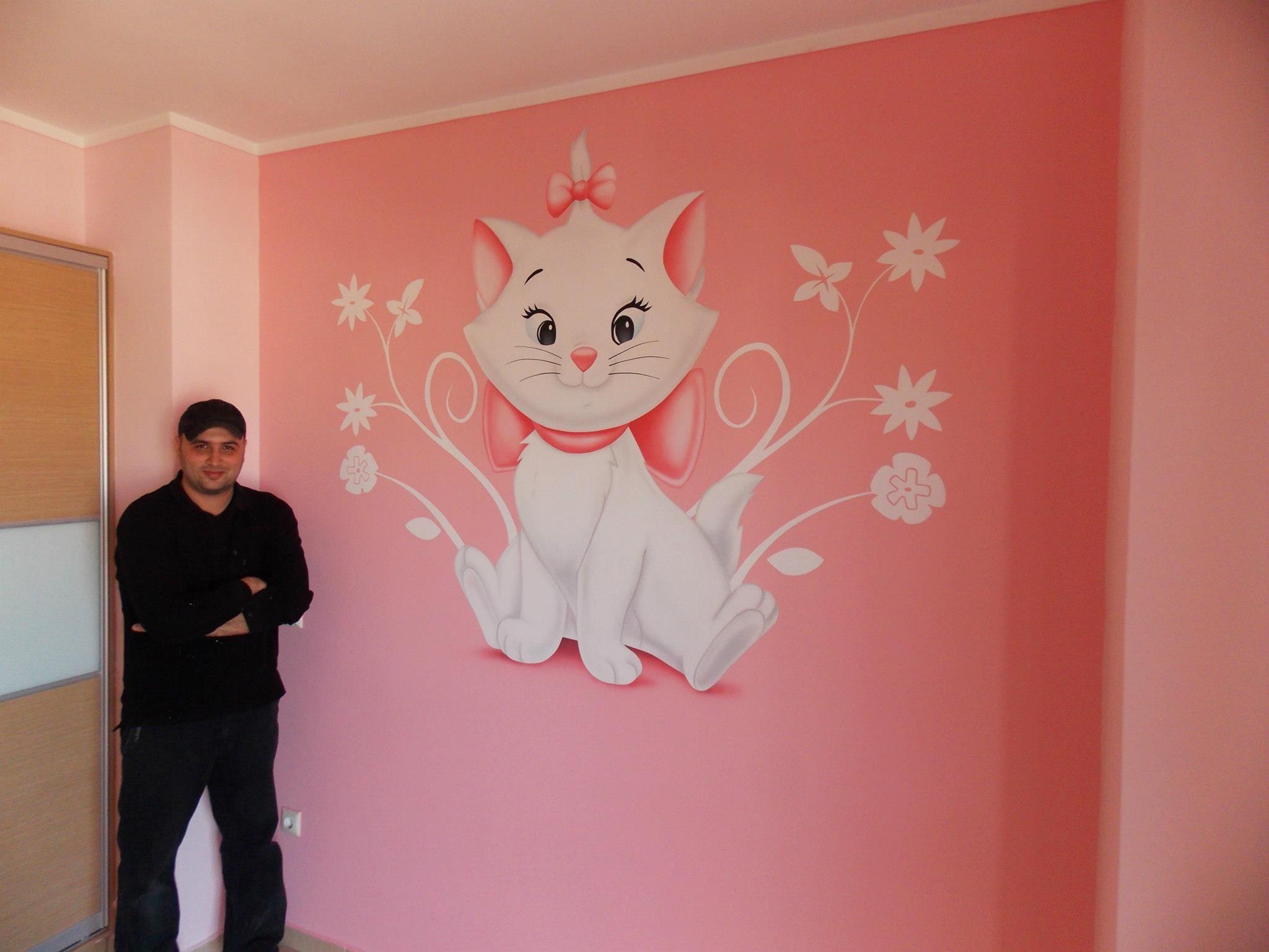 Aristocats Room Toixografiesgr Theme Chambre Bebe Marie