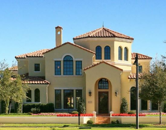 Fachadas de casas coloniales de dos pisos estilo pinterest for Estilos de fachadas de casas