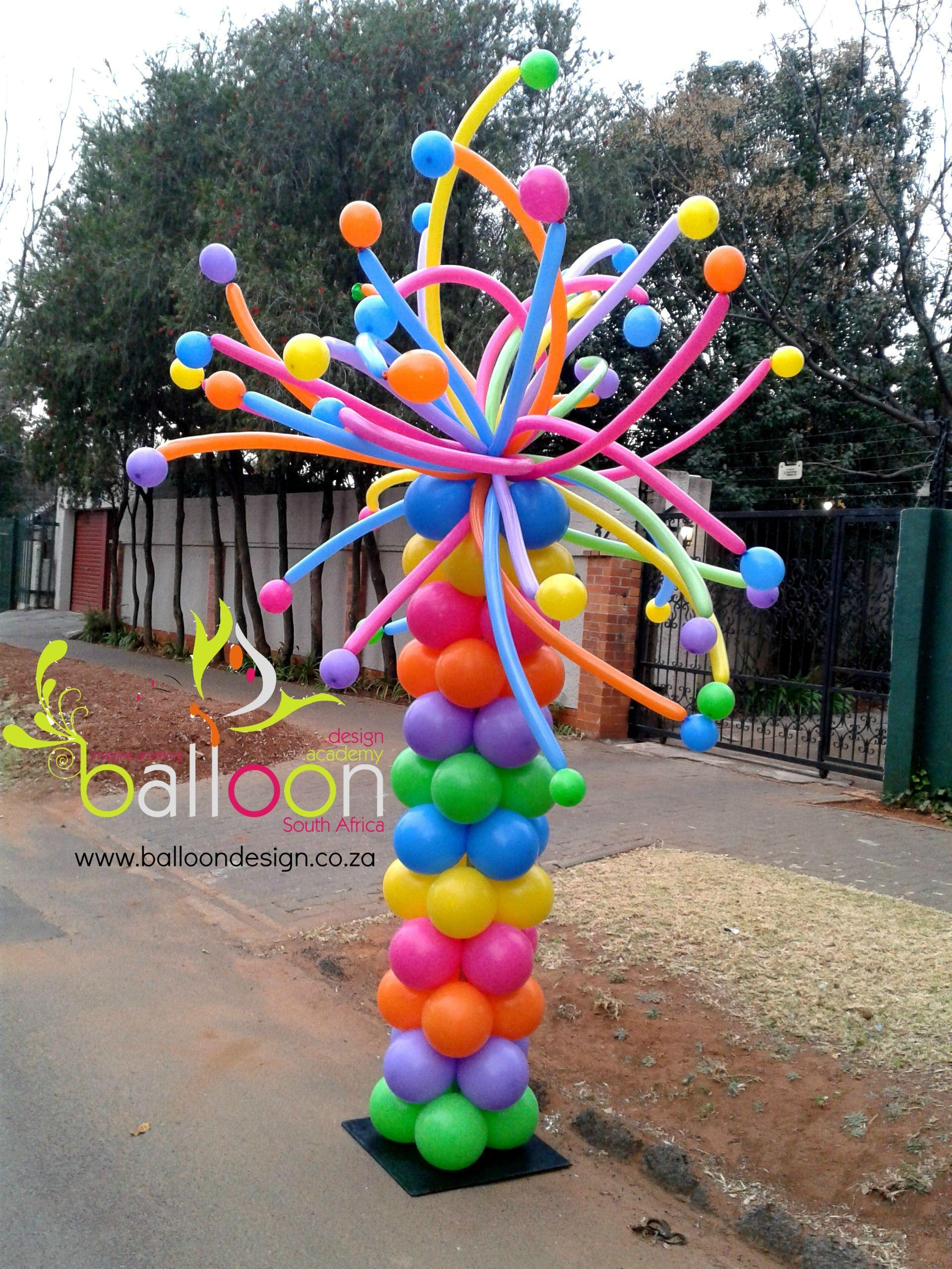 Stillwater Race Balloon Pillar Balloon Decorations Diy Balloon Decorations Balloon Pillars