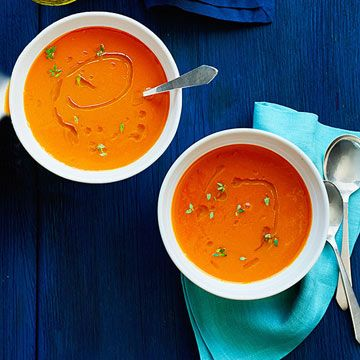 carrot and thyme soup. Get ready for the holiday season with these fast meals, sides, desserts and gift-able treats!