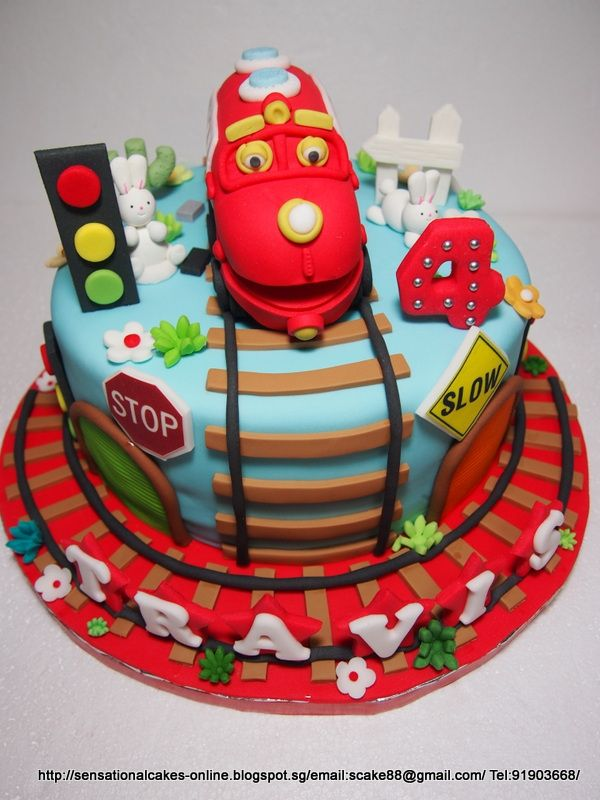 Swell Chuggington Trains Theme Sensational Cakes Singapore With Funny Birthday Cards Online Overcheapnameinfo