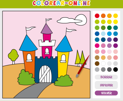 Actividades Para Educación Infantil Dibujos Para Pintar Colorear