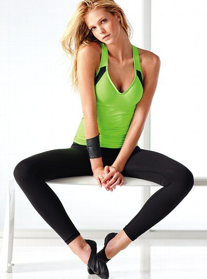 Would love this as a workout top! it has my favorite bra built in it... the incredible!!! :)