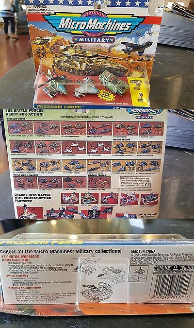Tanks and Military Vehicles 171138: Rare Lot Military Micro Machines #7 Photon Warriors Zi-9000 Ramshead X5 Moc Nrfb -> BUY IT NOW ONLY: $49.99 on eBay!