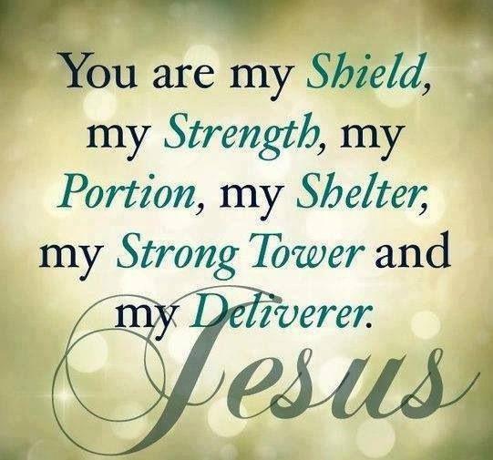 My strength, my shield
