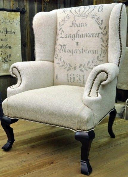 Antiqies Fauteuil Deco Pochoir Meuble Mobilier De Salon