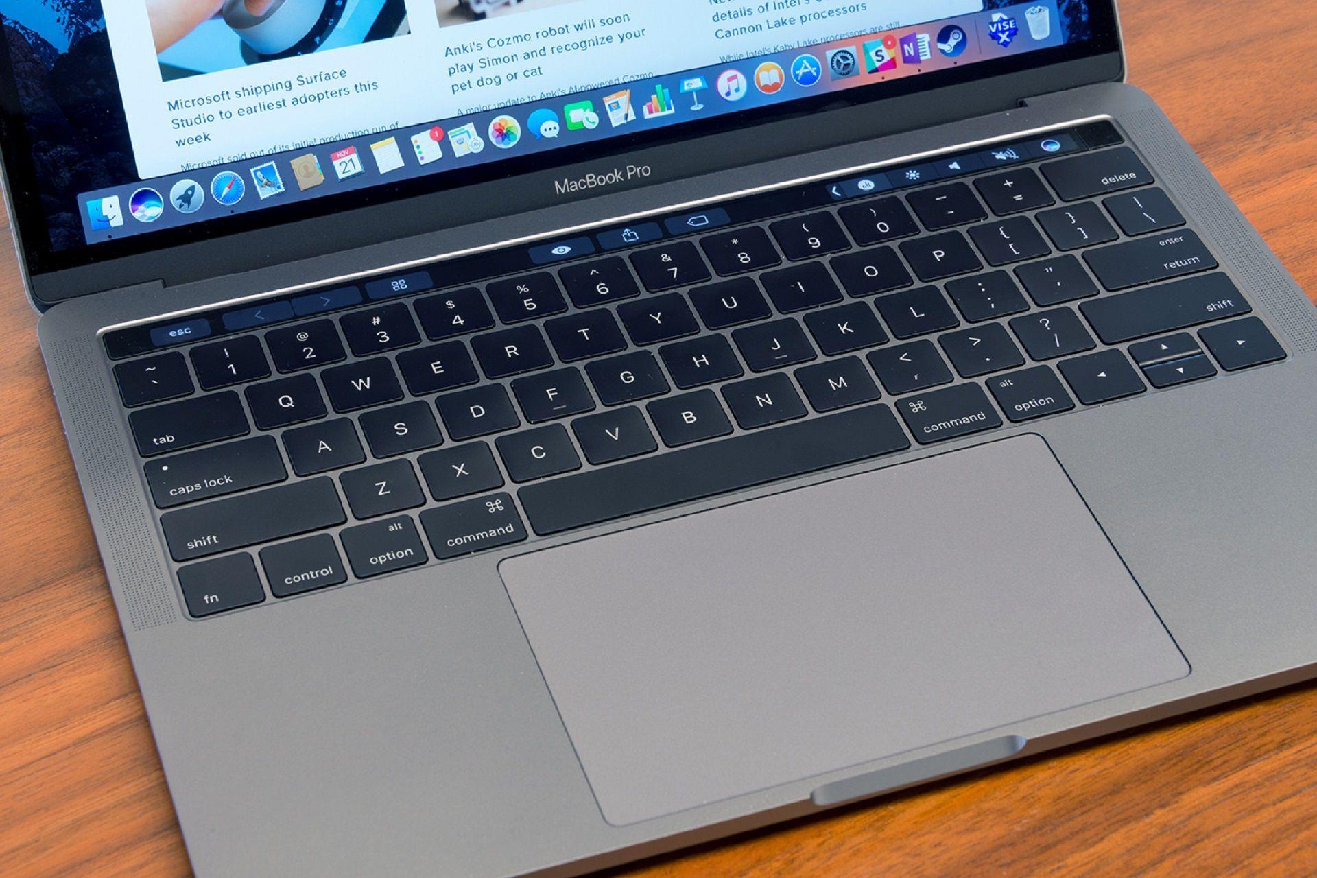 أبل ت صلح لوحة المفاتيح في الجيل الجديد من أجهزة Macbook Pro