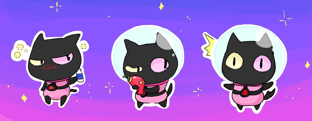Steven Universe Cookie Cat Wallpaper