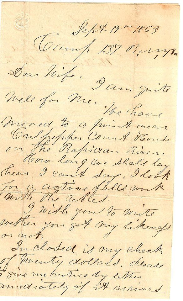 Last letter to his wife Abraham Lincoln Pinterest - country of origin letter