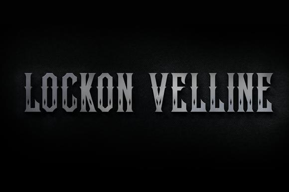 Lockon Velline +Bonus Pack by seventhimperium on @creativemarket