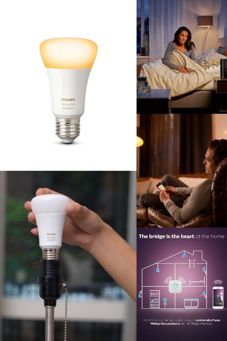 Philips Hue 9 5w E27 Smart Bulb White Ambiance In 2020 Smart Bulb Hue Philips Kit Homes