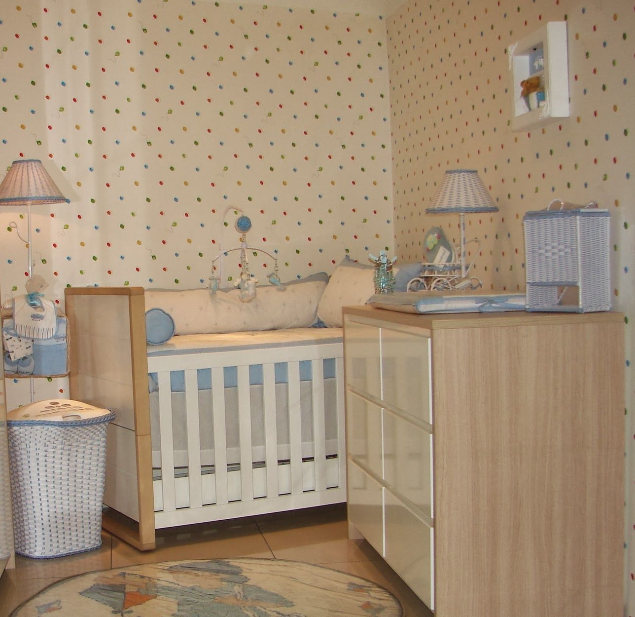 A Decora O Do Quarto Do Beb Est Cada Vez Mais Moderna E  ~ Decoração De Quarto De Bebe Pequeno