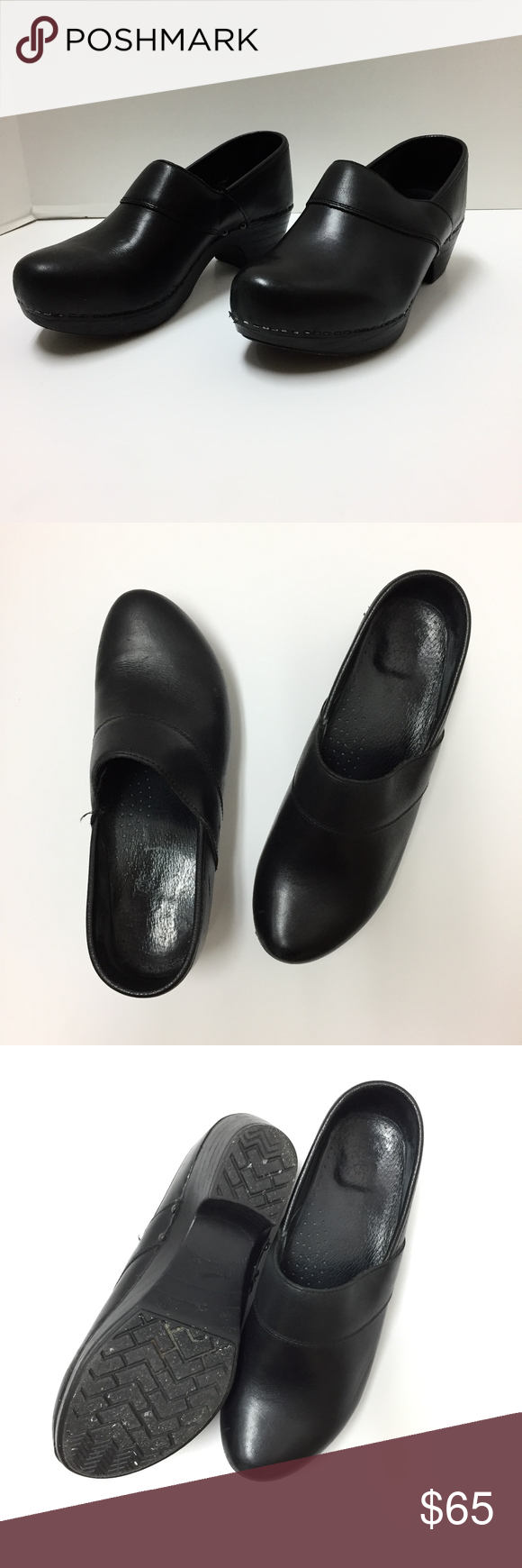 Dankso prima monaco clogs shoes 39 black leather dansko shoes dankso prima monaco clogs shoes 39 black leather nvjuhfo Image collections