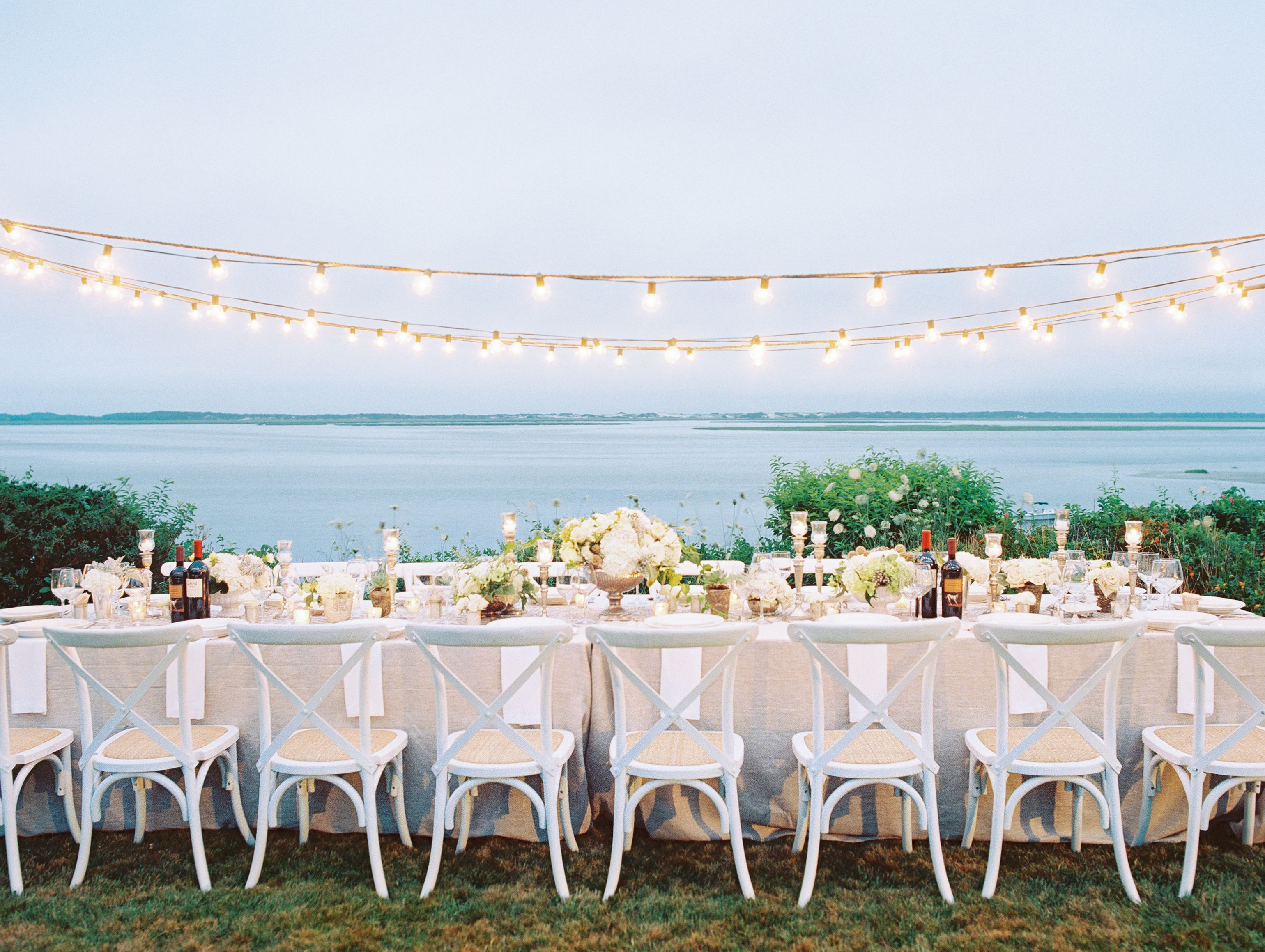 Wedding Dinner Party Ideas Part - 40: How To Pull Off A Proposal And Surprise Engagement Party Thatu0027s So Cape Cod