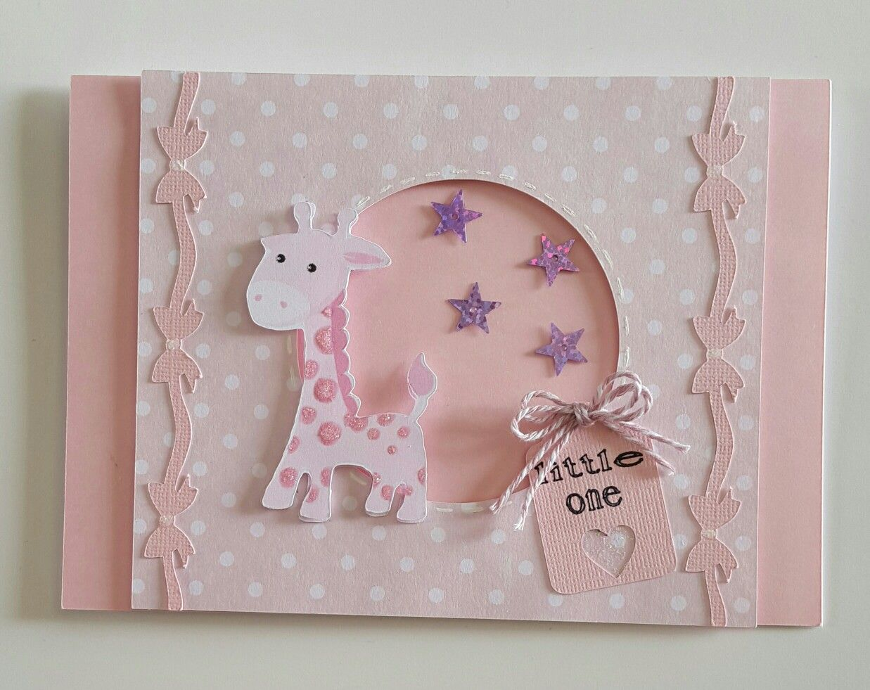 Baby Card Making Ideas Part - 50: Baby Card Using Scan N Cut.