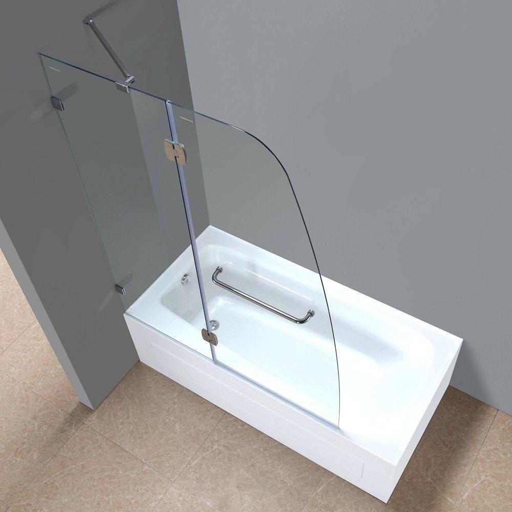 48 inch corner tub. 48 Inch Long Bathtubs Corner Jacuzzi Tub Length  Aston Frameless Pivot