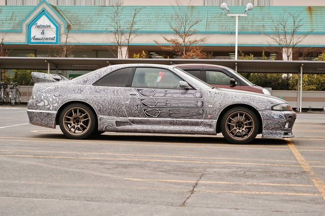What This Guy's Artist Girlfriend Did To His Car  With Sharpie Will Amaze You