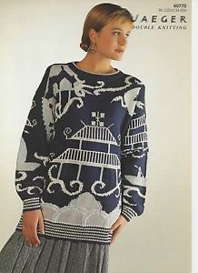 double knit sweater intarsia - Google Search